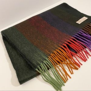 Cashmere Rainbow Scarf | Made In England